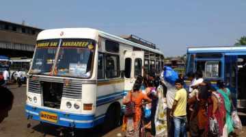 anjuna mapusa bus