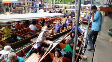 bangkok floatingmarket stau