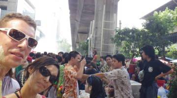 bangkok songkran wir