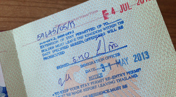 bangkok visa extension