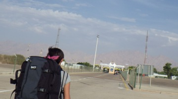 israel border eilat to jordan